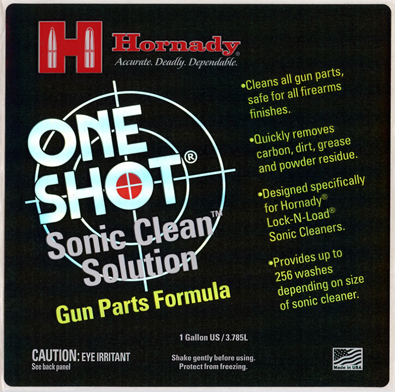 Hornady Adhesive Product Label