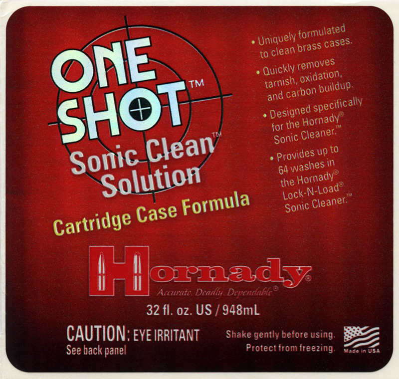 Adhesive Product Label for Hornady