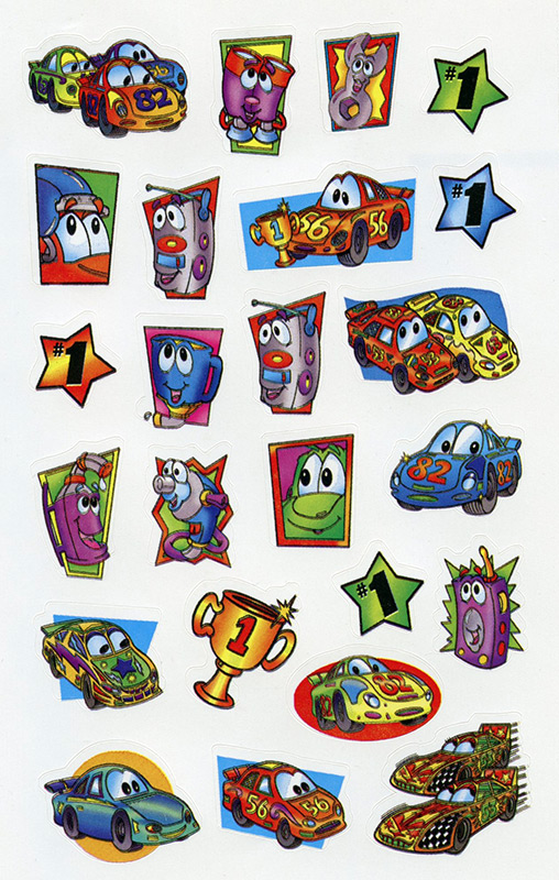 Disney Character Stickers - Cars