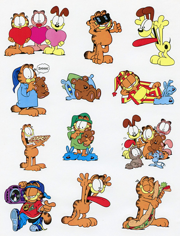 Garfield Stickers