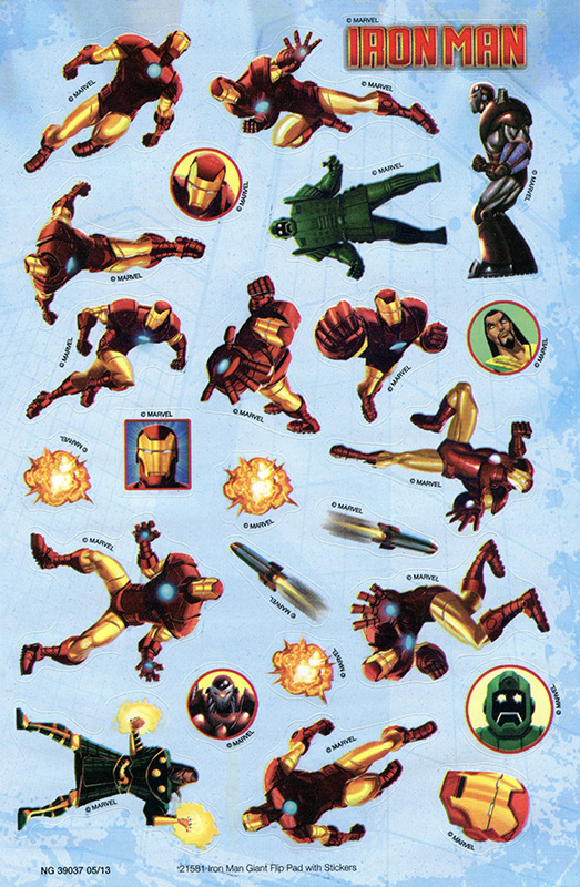 Iron Man Stickers
