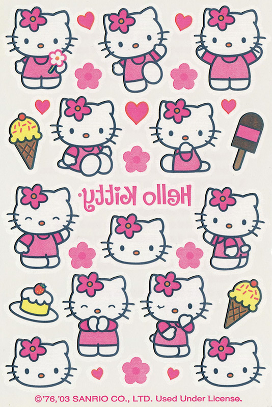 Temporary Tattoos - Hello Kitty